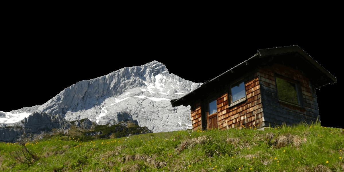 Berghütte in Garmisch Partenkirchen